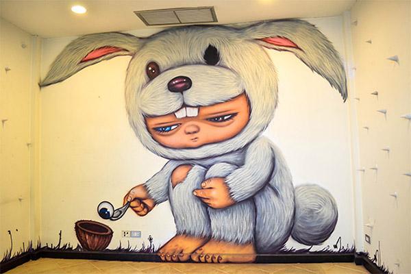 Alex Face ศิลปิน กราฟิตี้อขงไทย