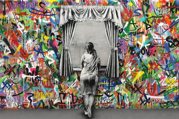 การพ่นสีบนกำแพงที่สามารถสื่อความรู้สึกไปถึงคนที่ผ่านมาเห็นได้