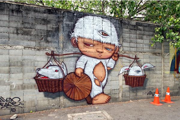 รวมเหตุการณ์บอมบ์งาน Graffiti