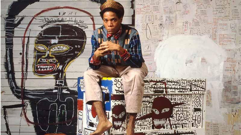 Michel Basquiat ศิลปินกราฟฟิตี้ แห่งยุค 80